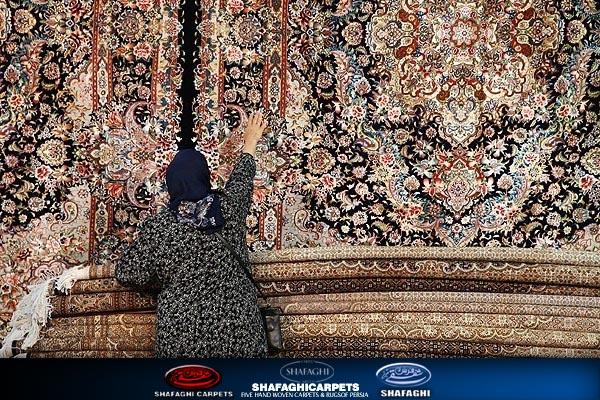 فرش شفقی تبریز shafaghi-carpets