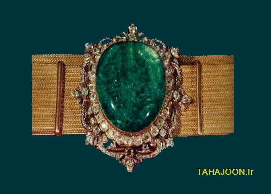 کمربند زرین - جواهر ۲۰۰ ساله خزانه ملی جواهرات - فروشگاه طاهاجون