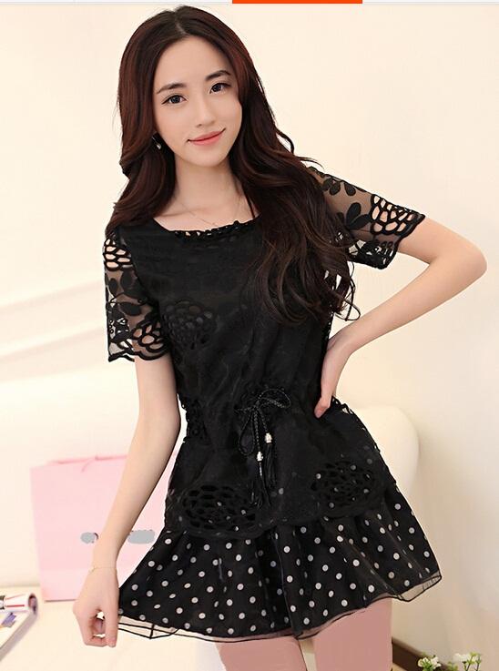 http://aksmodel.rozblog.com - مدل هاي جديد لباس كوتاه ريون كره اي