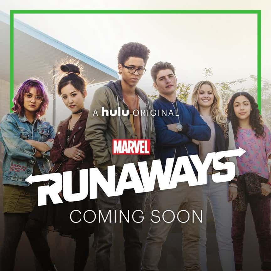 پوستر سریال runaways