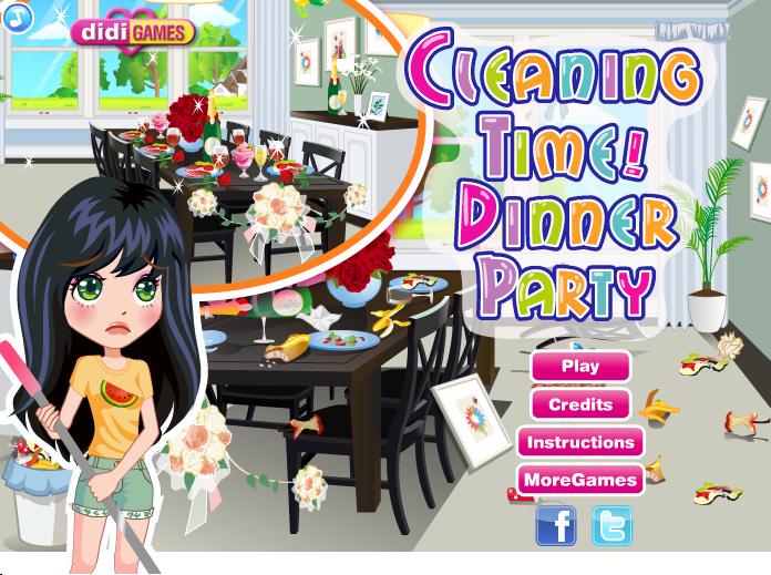 بازی آنلاین تمیز کردن خانه