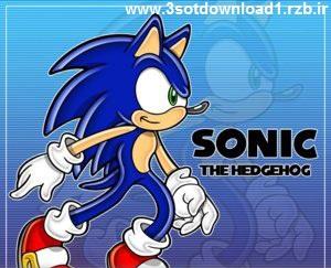 دانلود بازی سونیک سگا Sonic The Hedgehog برای کامپیوتر-سه سوت دانلود 1