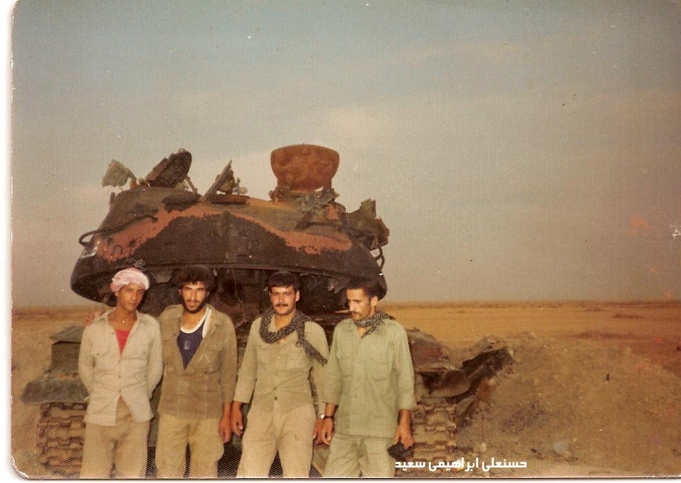کهنه سرباز و خاطره ای از عملیات رمضان