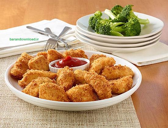 اشپزی Chicken-Nugget