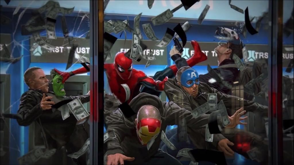 جنگ مرد عنکبوتی - انتقام جویان