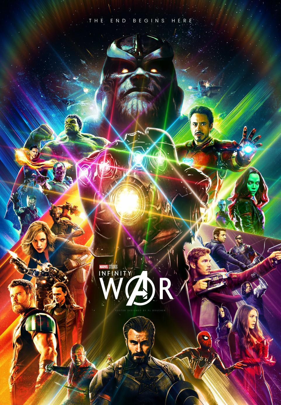 پوستر infinity war