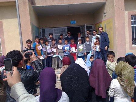 طرز تهیه شیرینی بقچه ای آموزش وپرورش منطقه زنجانرود