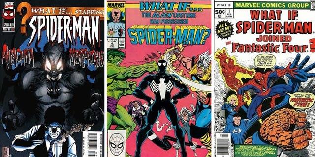 لینک دانلود کمیک های What if? مرد عنکبوتی