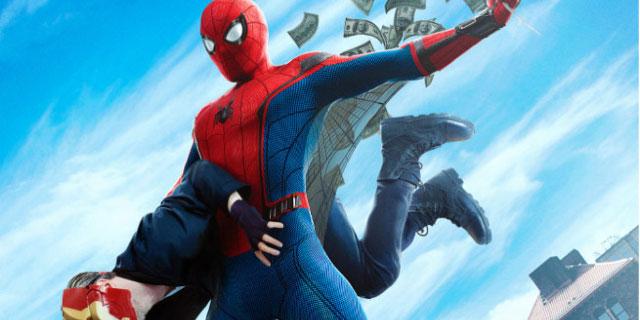 مرد عنکبوتی، اسپایدرمن ، مرد عنکبوتی بازگشت به خانه، پیتر پارکر ، بلوری