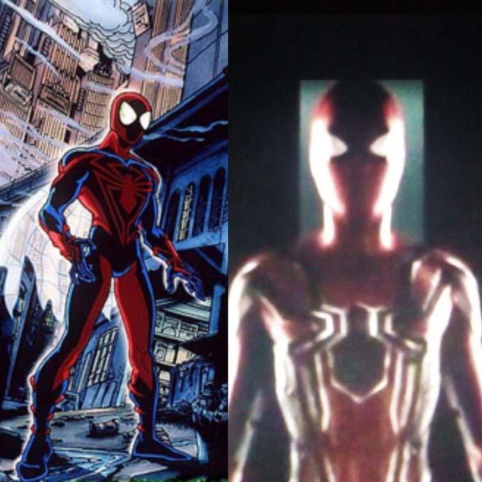 لباس unlimited  مرد عنکبوتی