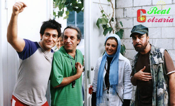 عکس محمد رضا گلزار در پشت صحنه توفیق اجباری