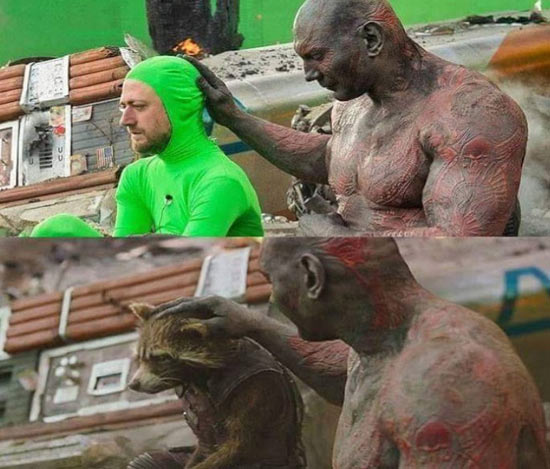 قبل و بعد از جلوه های ویژه در فیلم های مشهور!