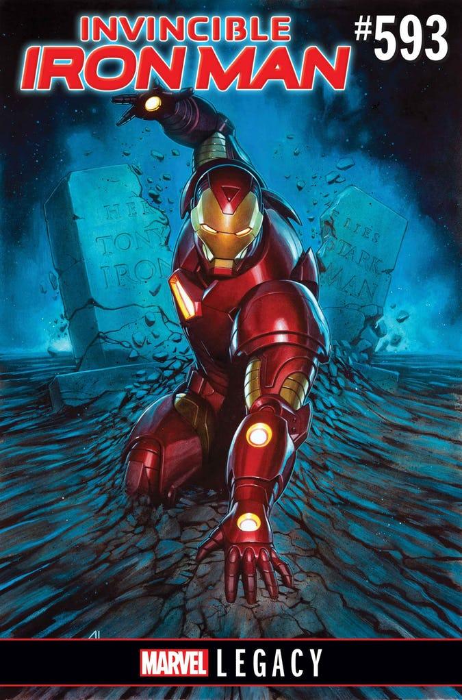 کمیک invincible iron man