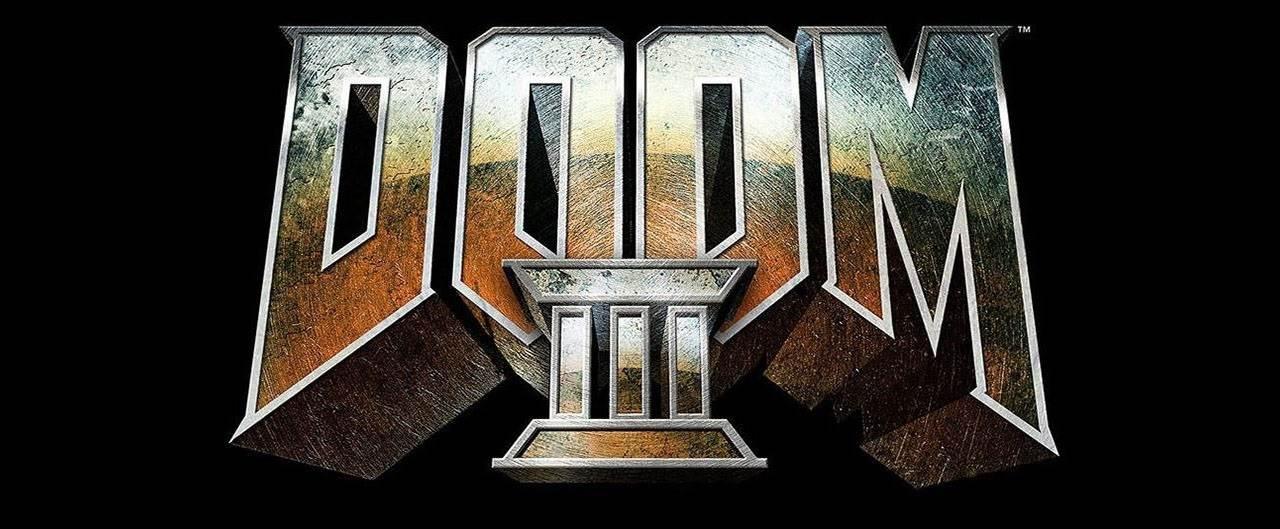 لوگوی نسخه آلفای بازی Doom 3
