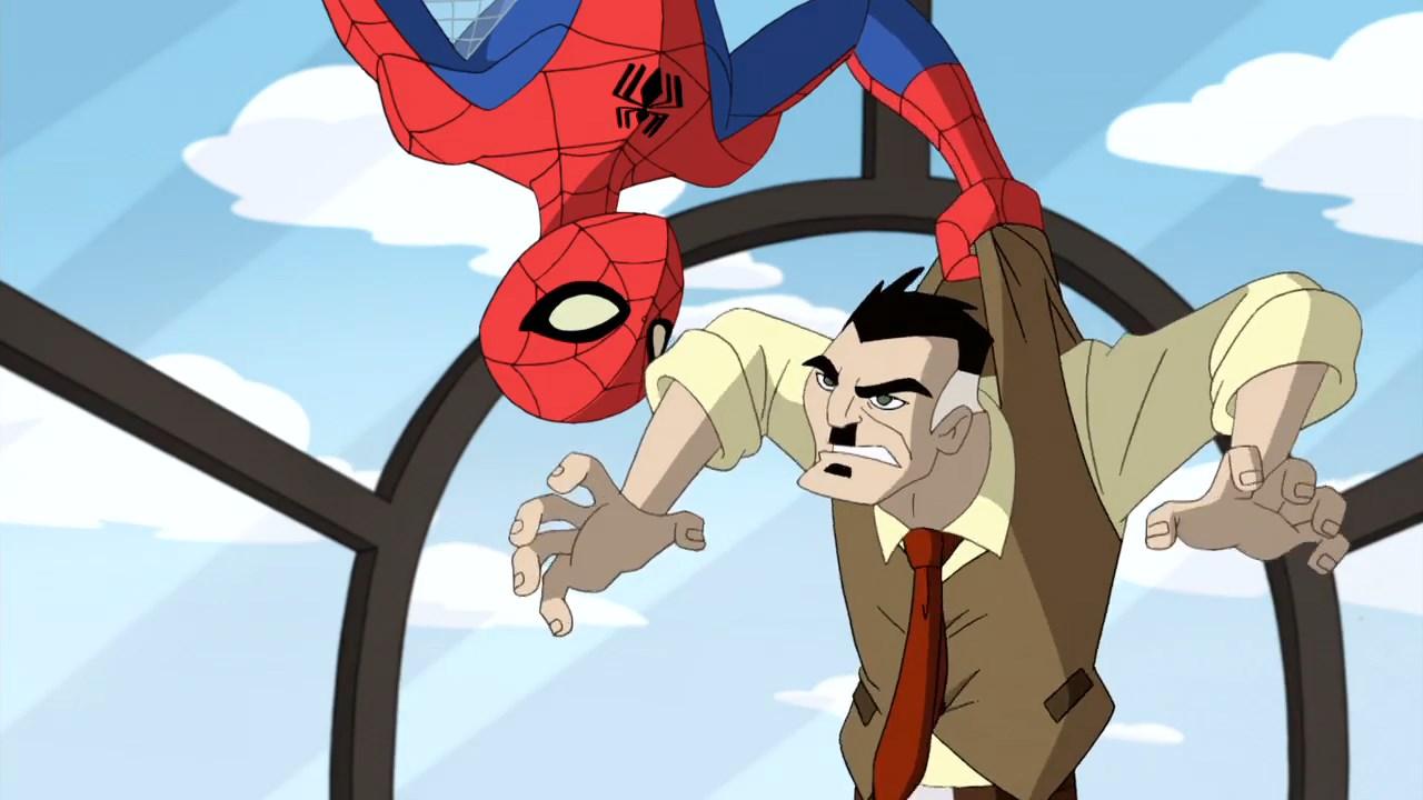 مرد عنکبوتی و جیمسون