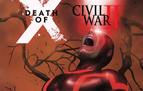 مرگ شخصیت مهم مارول در شماره 4 از کمیک Death of X