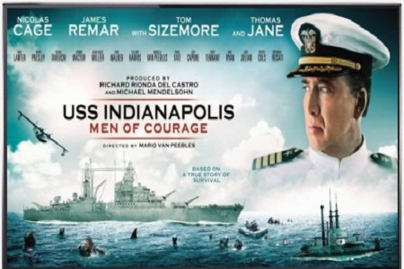 دانلود فیلم USS Indianapolis Men of Courage 2016