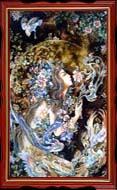 تابلو فرش اصل تبریزی