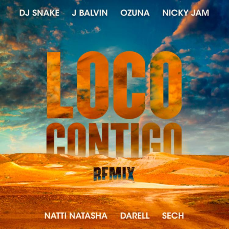 Download new song  DJ Snake, J. Balvin, Ozuna feat. Nicky Jam, Natti Natasha, Darell, Sech – Loco Contigo (REMIX)