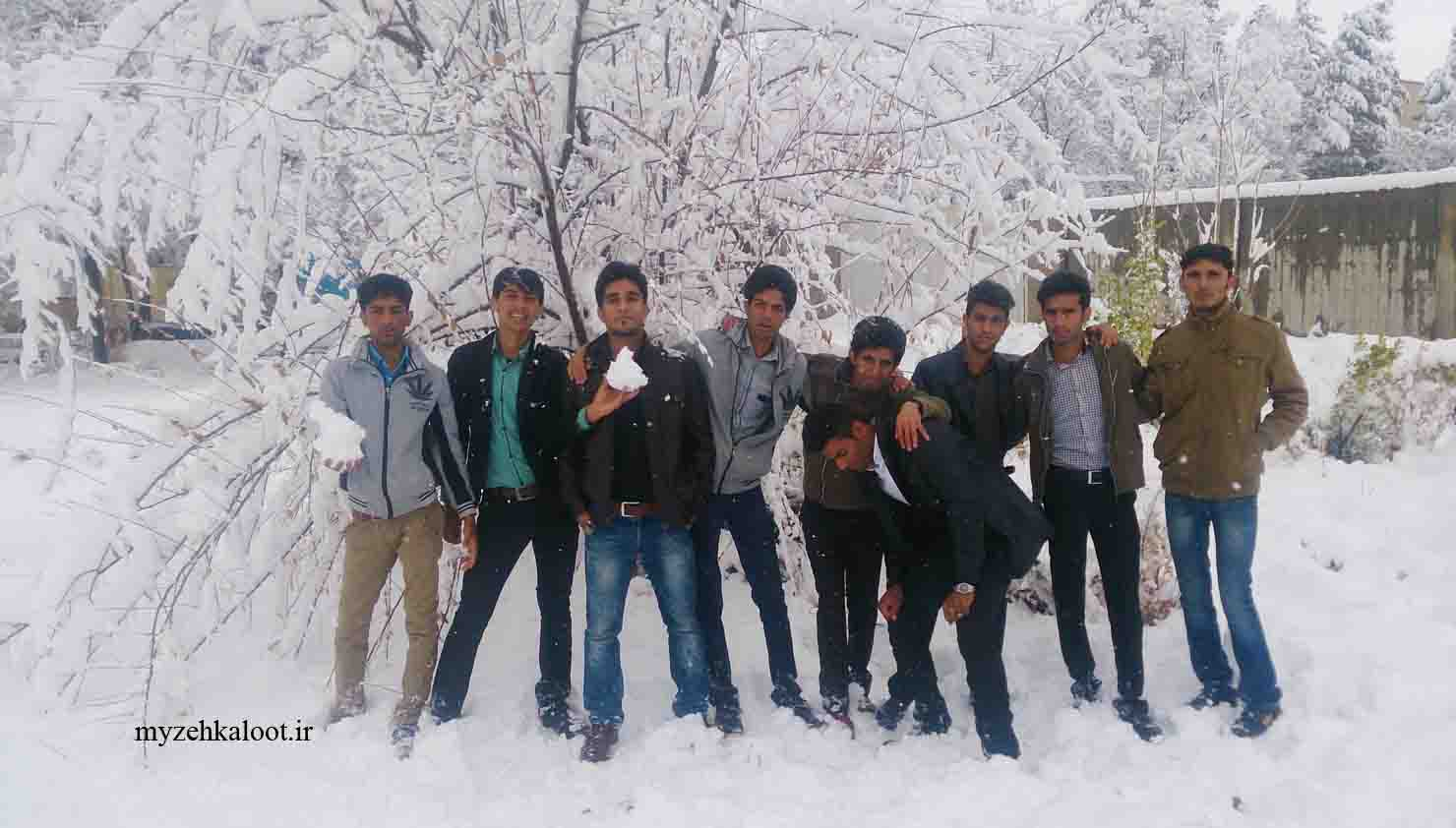 دانشجویان قلعه گنج ، زهکلوت و منوجان