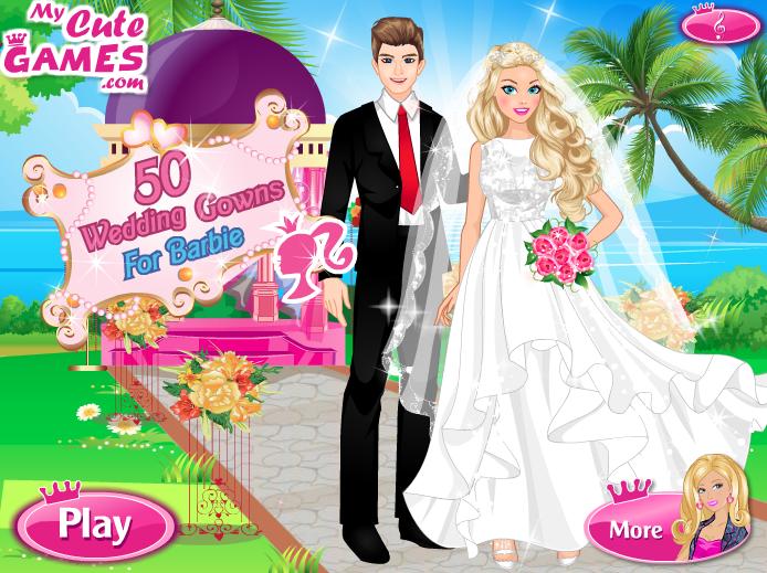 بازی جدید ازدواج باربی