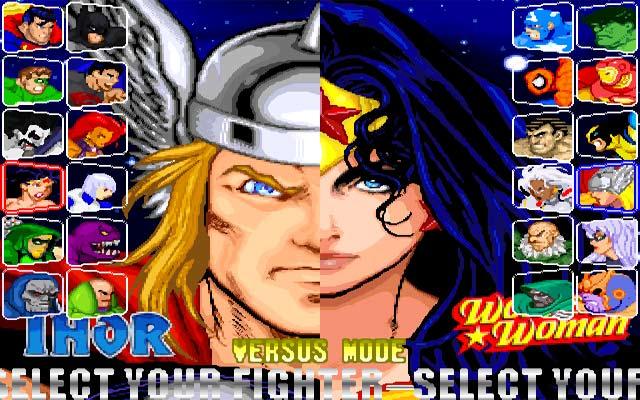 بهترین و بدترین بازی های کمیک بوکی در سبک مبارزه ای (Fighting)