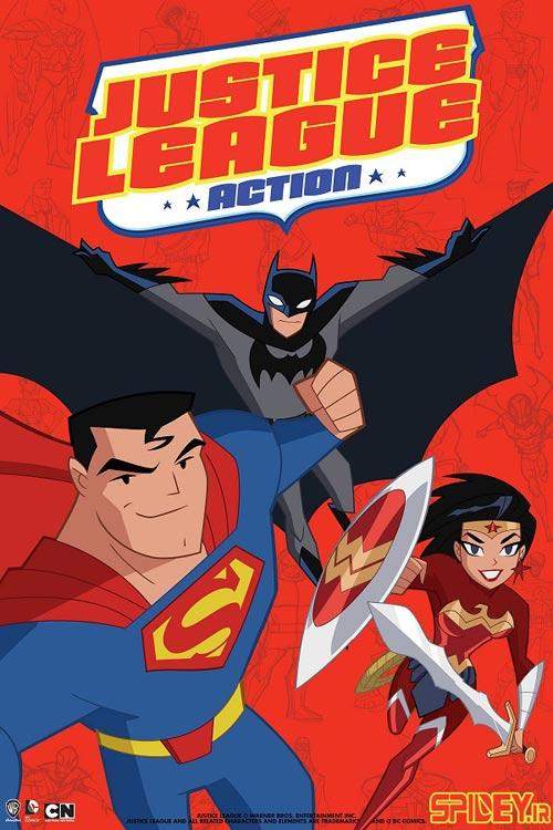 لینک دانلود کارتون جاستیس لیگ اکشن (Justice League Action)