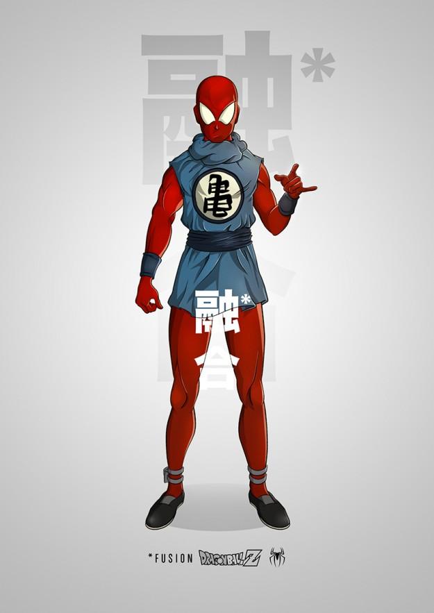 مرد عنکبوتی انیمه