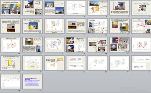 پاورپوینت تحلیل مدرسه ابتدایی توسط R+D Studio