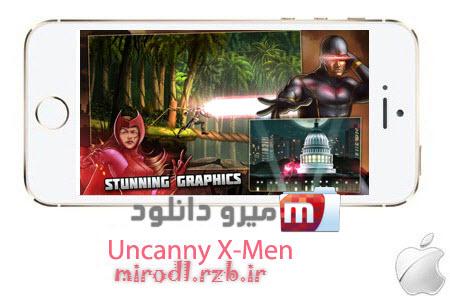 بازی ایکس من Uncanny X-Men: Days of Future Past 1.0.3 – آیفون و آیپد و آیپاد