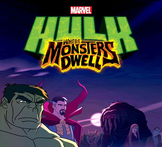 لینک دانلود کارتون Hulk: Where Monsters Dwell
