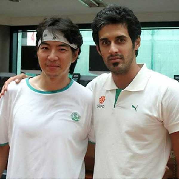 عکس سعید معروف به همراه جومونگ
