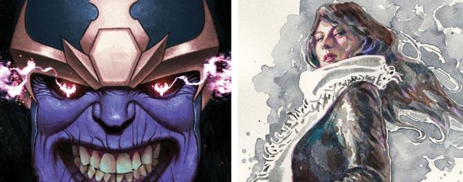 سری کمیک های جدیدی از Thanos و جسیکا جونز منتشر میشوند