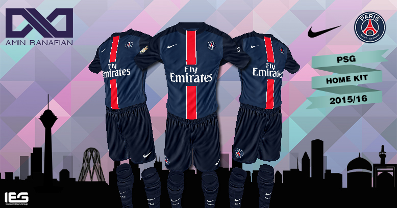 Psg kit fts 15 game