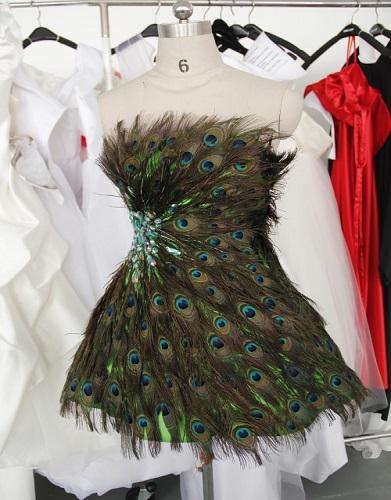 لباس های مجلسی و شب طرح طاووس 2015