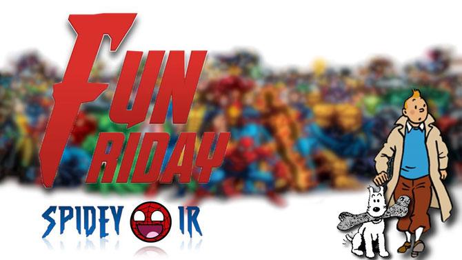 Fun Friday - قسمت 4 یا 5 ؟؟!!!! یادم نیست !