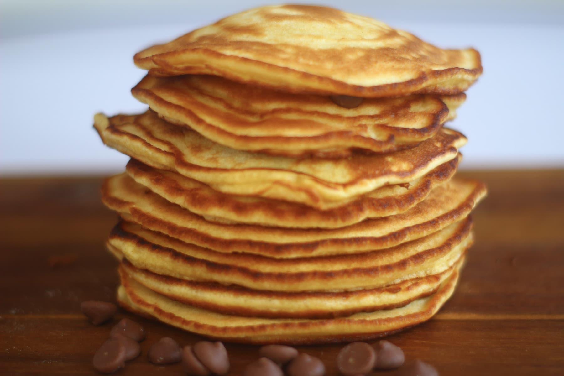آموزش آشپزی سری 50 ام طرز تهیه پنکک غذایی