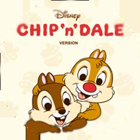 دانلود تم جدید لاین Chip 'n' Dale