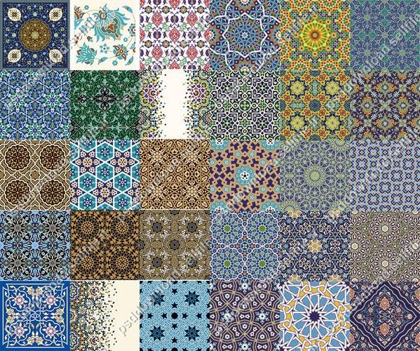کاشی-ایرانی-سنتی-اسلامی