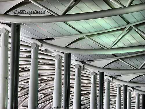 Kansai International Airport Terminal - Piano - Details_Architexpert.com