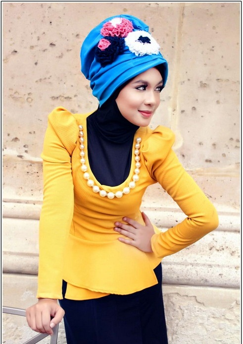lebas tork 4 www.100model.blogfa.com چند مدل شیک لباس باحجاب ترک زنانه 2014