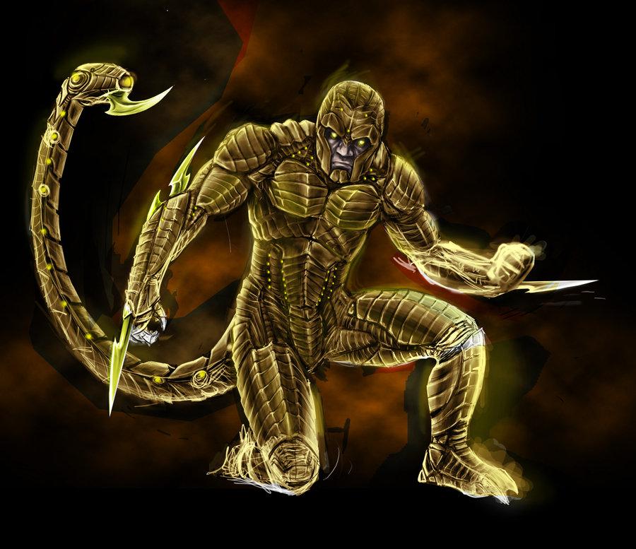 عكس scorpion