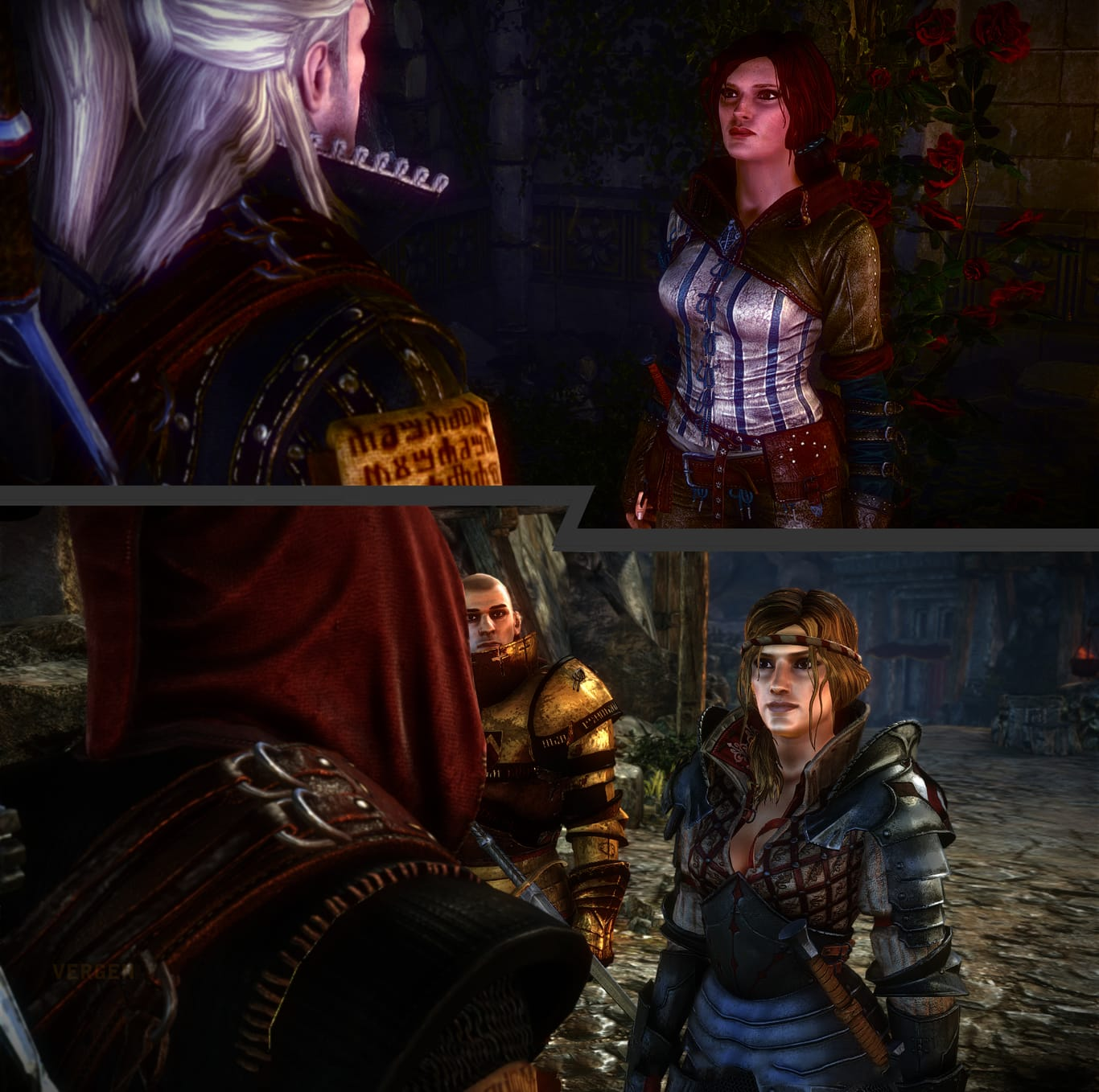 witcher 2 triss or saskia choice geralt