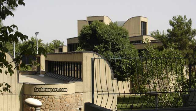 Tehran Museum of Contemporary Art - Diba - Exterior_Architexpert.com