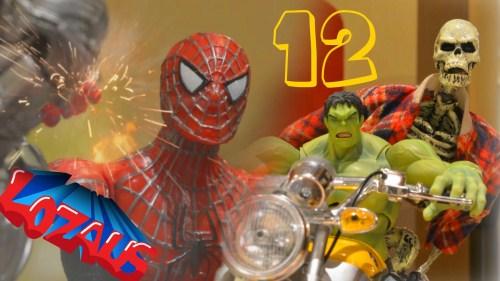 جنگ عروسک های مرد عنکبوتی