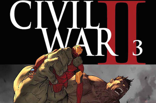 چه كسی در شماره 3 كمیك Civil War II میمیرد؟