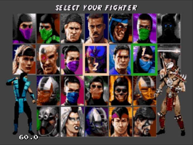 نحوه فعال کردن غول های Mortal Kombat 3 Sega