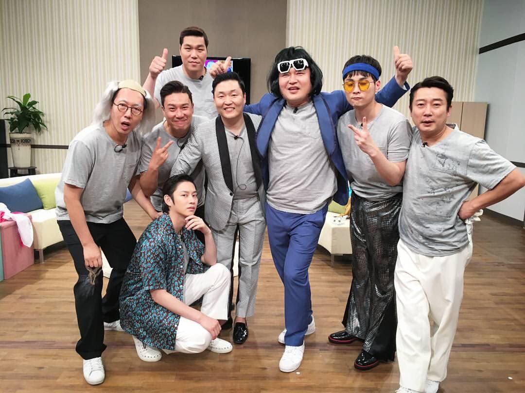Knowing brother heechul ep75 ft psy 2017 persub blue subs knowing brother stopboris Image collections
