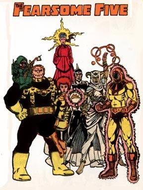 گروه fearsome five