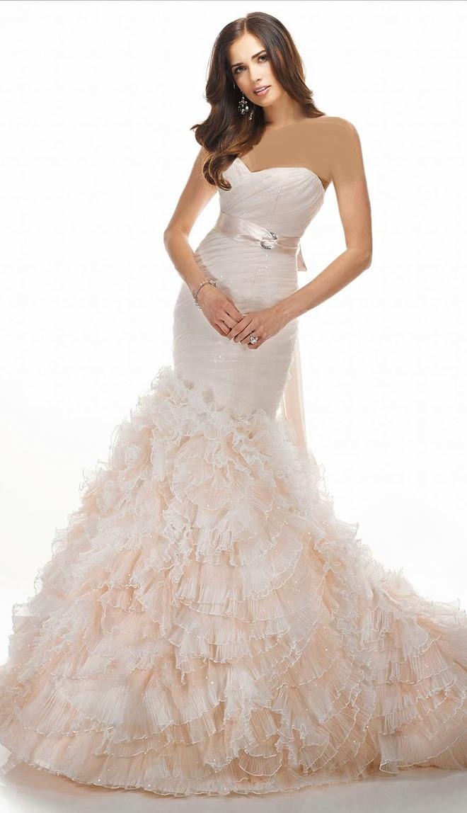 لباس عروس های جدیدو زیبا